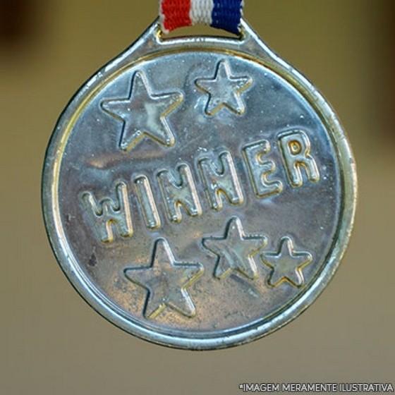 Banho de Prata em Medalha São Luís - Banho de Prata em Peças