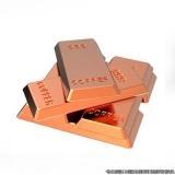 banho de cobre em metais Boa Vista