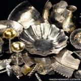 banho de ouro na prata valor Serra