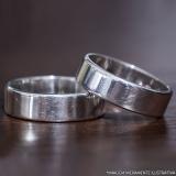 banho de prata anel Criciúma