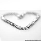 banho de prata em pulseira Blumenau