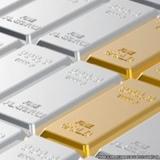 banho de ouro branco em prata