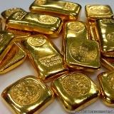 banho em ouro