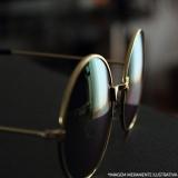 banho de ouro óculos