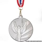 orçamento de banho de prata em medalha Dourados